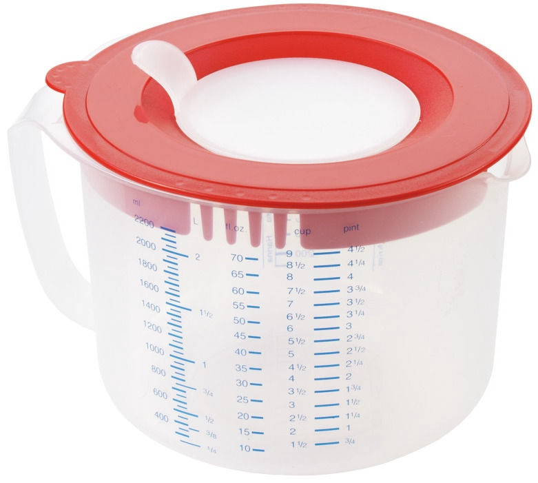 Leifheit Mixing Bowl Measure&Store 2,2L