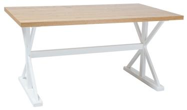 Pusdienu galds Signal Meble Oxford Oak, 1500x900x760 mm