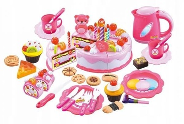 EcoToys Cake For Chopping Birthday Set 80pcs