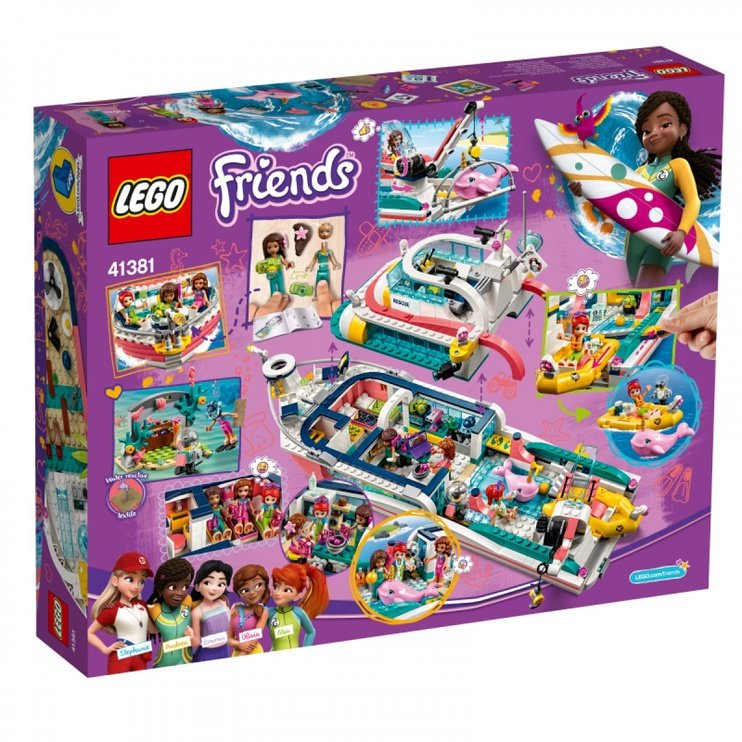 Konstruktor LEGO® Friends 41381 Päästemissiooni paat