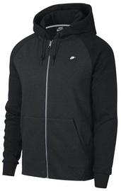 Nike Mens Full Zip Optic Hoodie 928475 010 Black 2XL