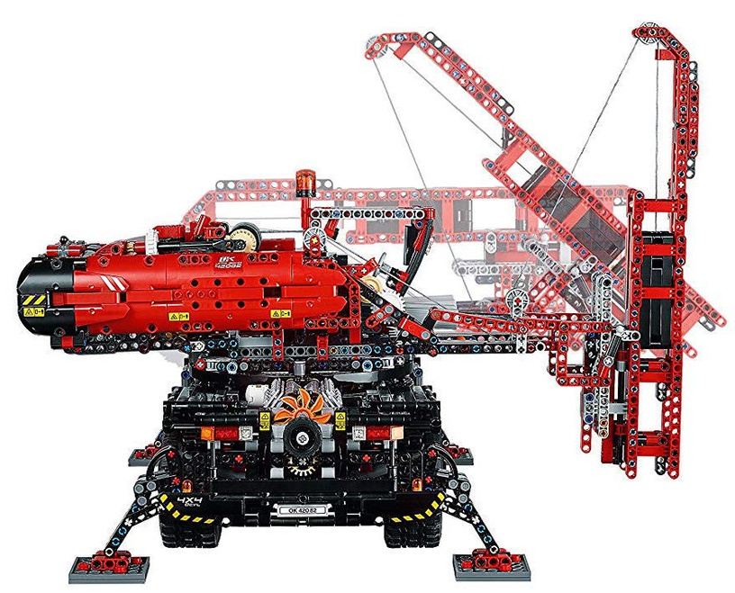 LEGO Technic Rough Terrain Crane 42082