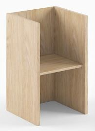 Skyland Shelving Unit B 411 47.5x43.5x77cm Devon Oak