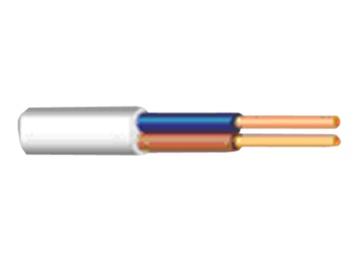 Lietkabelis BVV-P, 2 x 1 mm²