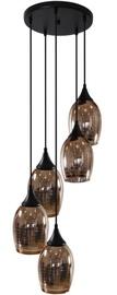 Candellux Marina Ceiling Lamp 5x60W E27 Black/Copper