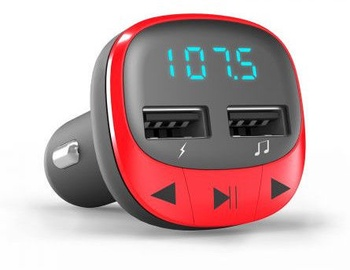 Energy Sistem FM Car Transmitter Red