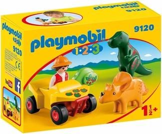 Playmobil 1-2-3 Explorer With Dinos 9120