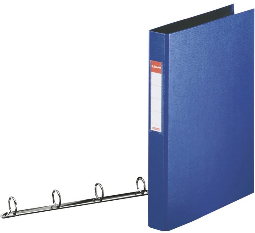 Esselte Folder 4 Rings 4cm Blue