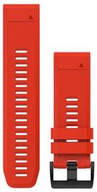 Garmin Fenix 5X 26mm QuickFit Silicone Flame Red