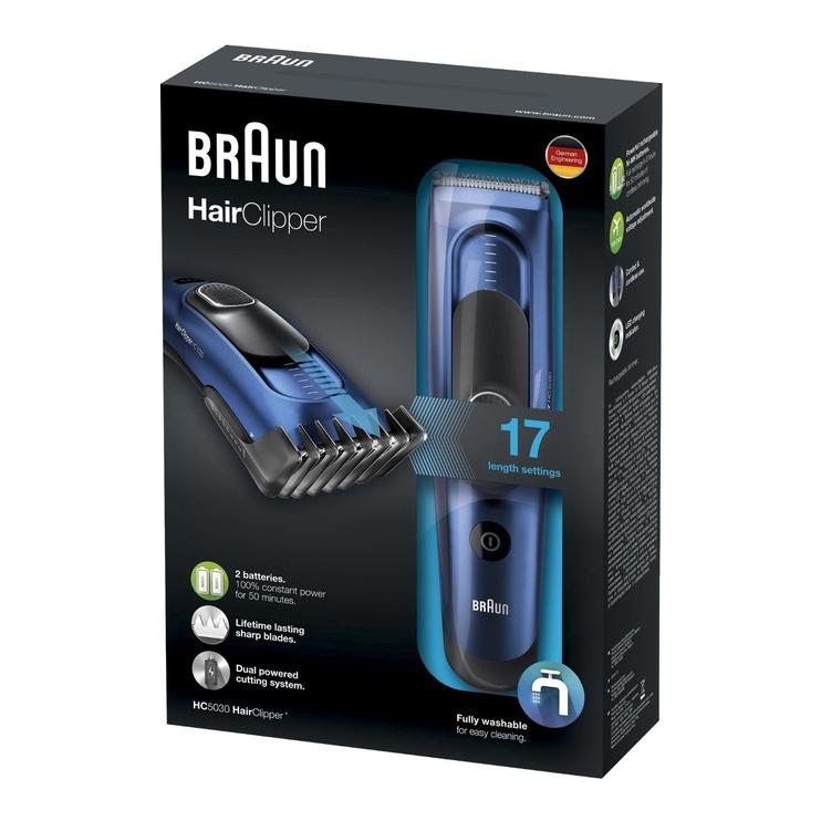 Plaukų kirpimo mašinėlė Braun HC5030