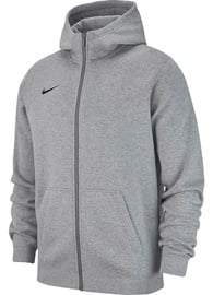 Nike JR Sweatshirt Team Club 19 Full-Zip Fleece AJ1458 063 Gray M