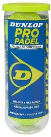 Dunlop Pro Padel Ball 3pcs