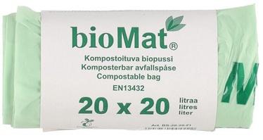 Atkritumu maisi BioMat Garbage Bags 20l 20pcs