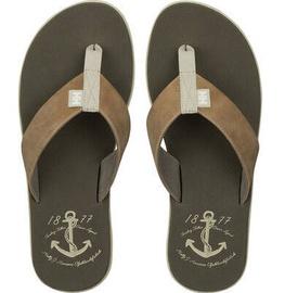 Helly Hansen Men Sandal Seasand Leather Beige 41