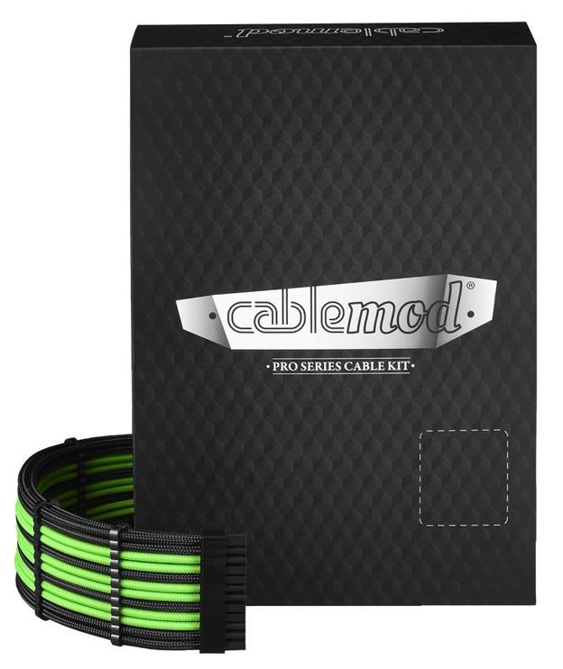 CableMod PRO ModMesh RT-Series Cable Kit Black/Light Green