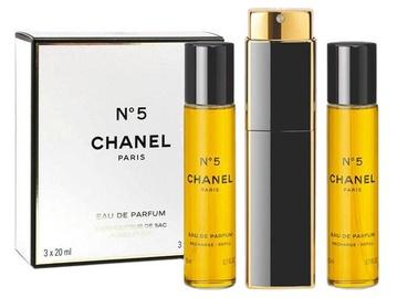 Kvepalai Chanel No.5 3 x 20 ml EDP Travel Spray