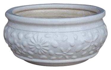 SN Ceramic Pot IP13-654 Ø20cm White