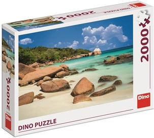 Dino Puzzle Beach 2000pcs