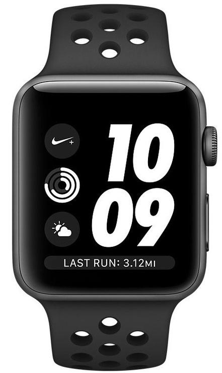 Apple Watch Series 3 42mm GPS NIKE+ Anthracite/Black