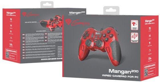 Žaidimų pultas Genesis Mangan 200