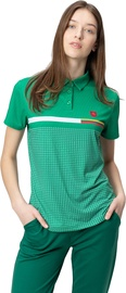Audimas Womens Functional Polo Tee Jolly Green L