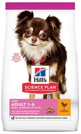 Hill's Science Plan Light Adult Dog Food w/ Chicken 1.5kg