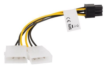 Lanberg Adapter Molex 6-pin/ Molex 3-pin x2