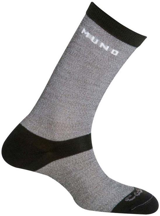 Носки Mund Socks Sahara Grey, 38-41, 1 шт.
