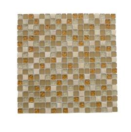 Stiklo mozaikos ruda A2010, 30 x 30 cm