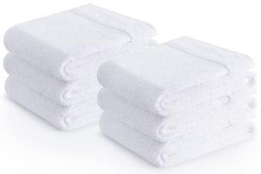 Rätik Zender Cotton 43710, valge, 100 cm x 50 cm, 6 tk