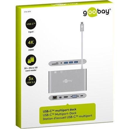 Goobay 62113 USB-C All-in-1 Multiport Adapter