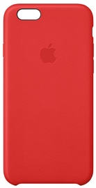 Apple Case for iPhone 6s Leather Red