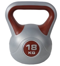 York Fitness Kettlebell 18kg Silver/Red