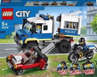 Конструктор LEGO City Транспорт для перевозки преступников 60276, 244 шт.