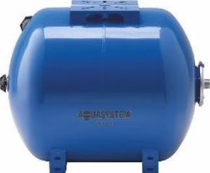 Aquasystem Expansion Vessel for Cold Water Horizontal Blue 80L
