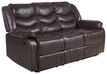 Home4you Sofa Dixon 3 Brown 21538