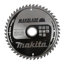 ZĀĢRIPA MAKITA B-08969 216X30X2,4MM Z48