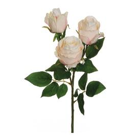 Dirbtinių rožių šaka, 56 cm