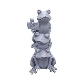 Dekorēšanas rīks SN Decor Frog 101HY0020 35x26x71.5cm Grey