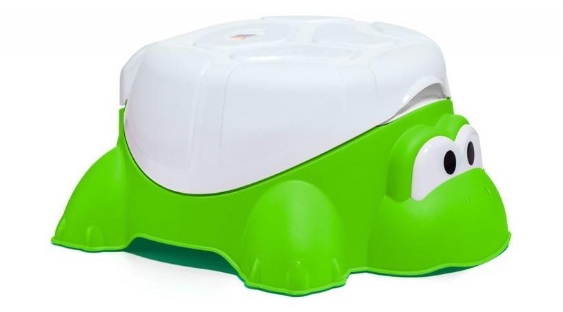 Детский горшок Molto Turtle 4in1 16705, белый/зеленый
