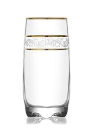 Stiklinių komplektas Lav Gold lines, 390 ml, 6 vnt