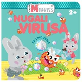 Knyga Kiškutis Mikutis nugali virusą