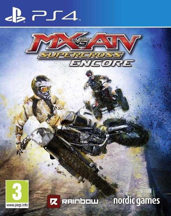 MX Vs ATV: Supercross Encore Edition PS4