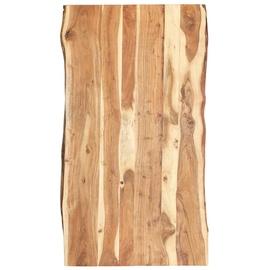 Столешница VLX Solid Acacia Wood, коричневый, 1200 мм x 600 мм