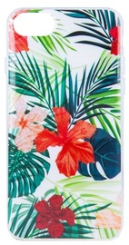 Mocco Spring Back Case For Apple iPhone XS Max Red Lilly