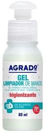 Roku dezinfekcijas līdzeklis Agrado Sanitizing Gel, 0.08 l