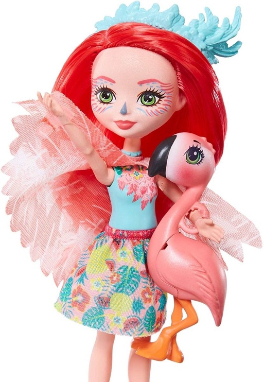 Кукла Mattel Enchantimals Flamingo GFN42