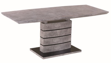 Valgomojo stalas Signal Meble Leonardo Grey, 1800x800x760 mm