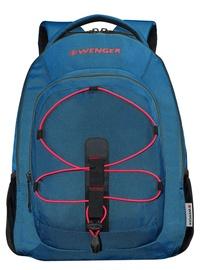 """Wenger Mars 16"""" Laptop Backpack Teal Red"""