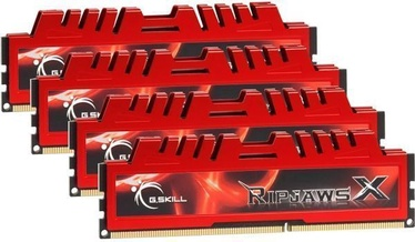 G.SKILL RipjawsX 32GB 1333MHz DDR3 CL9 KIT OF 4 F3-10666CL9Q-32GBXL